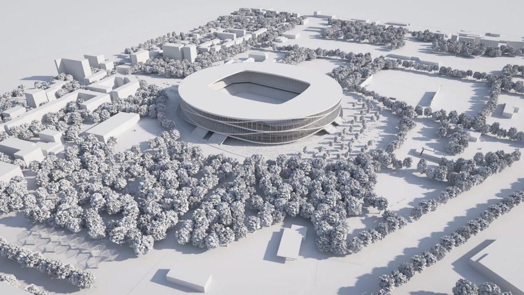 Peste 120 de milioane euro va costa noul stadion cu 30.000 de locuri de la Timișoara