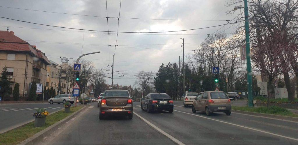 Alte restricții de circulație rutieră instituite în Timișoara