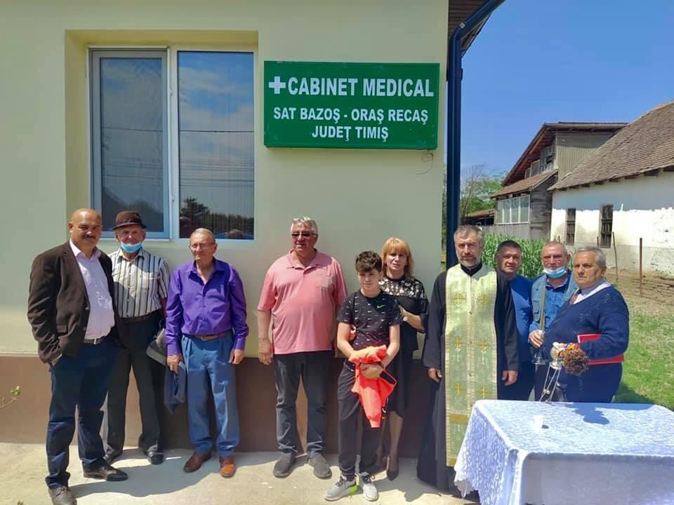 Dispensar medical modern pentru locuitorii din Bazoș