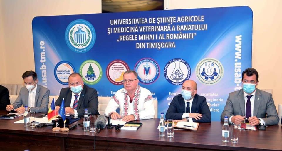 Ministrul Agriculturii, întâlnire cu reprezentanții USAMVB