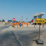 Restricții de circulație rutieră pe șantierul Centurii de Sud a Timișoarei