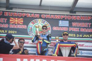 Patrick Pascotă, cel mai mic câștigător al etapelor de Campionat Național la Motociclism Viteză