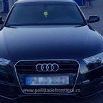 Audi furat din Germania, descoperit de poliţiştii de frontieră la Nădlac II