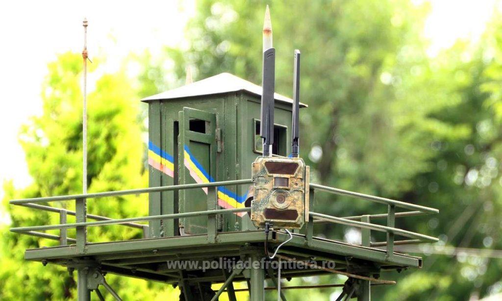 250 de noi camere speciale de supraveghere instalate la frontiera României