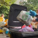 """Romeo Ursu, director ADID Timiș: """"În urma monitorizărilor pe care le facem constatăm că în pubela neagră sunt cantități foarte mari de deșeuri reciclabile, ceea ce conduce la un grad de valorificare a deșeurilor reciclabile foarte scăzut"""""""