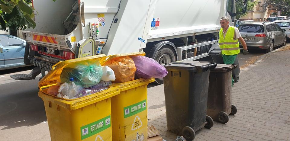 Programul săptămânii 27 septembrie – 02 octombrie 2021 pentru spălarea pubelelor de colectare deșeuri reziduale