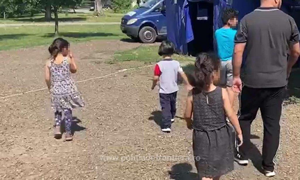 Copilul unor migranți irakieni a ajuns la spital în Timiș