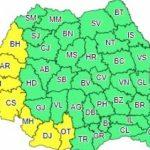 Temperaturile vor urca la 39 de grade în judeţe din vestul și sud-vestul ţării
