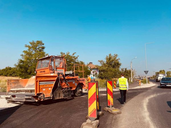 Consiliul Județean asfaltează un nou sector din centura alternativă a Timișoarei