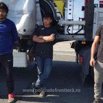 Ascunși într-un automarfar, trei afgani au încercat să treacă ilegal frontiera în Ungaria