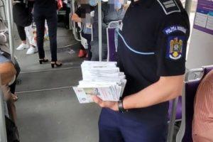 Ce fac polițiștii pentru a preveni furturile din buzunare în mijloacele de transport în comun
