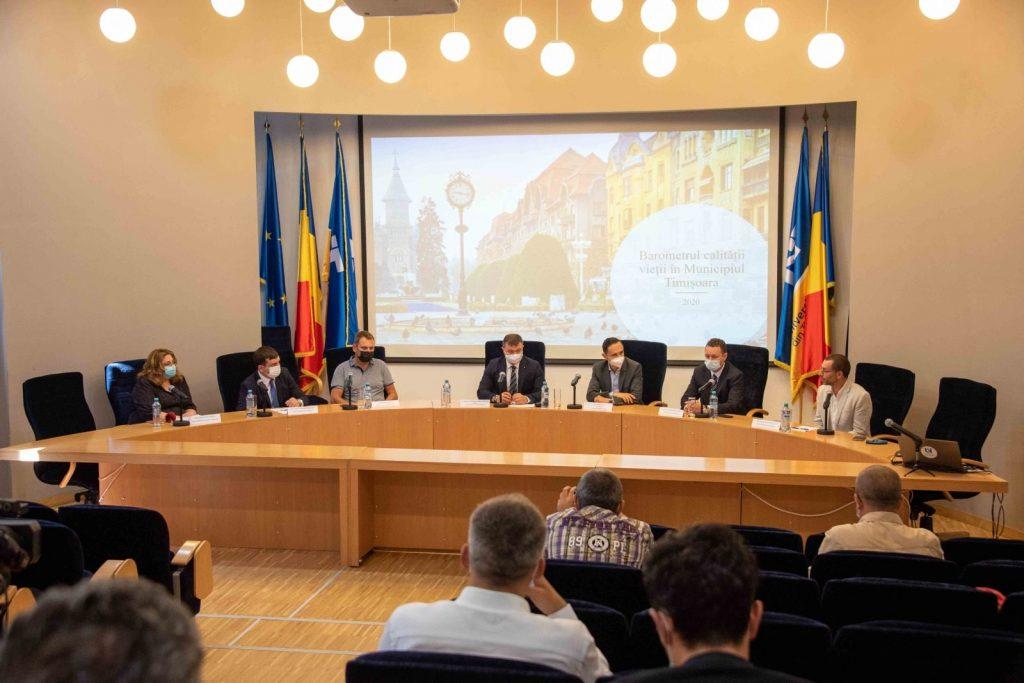 UVT lansează datele comparative pentru ultimii patru ani, rezultate din cercetarea privind Barometrul Calității Vieții în Timișoara