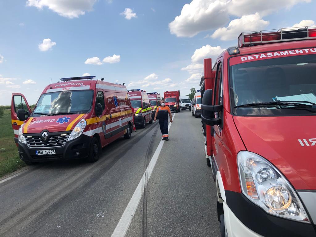 Trei persoane au murit într-un accident lângă Timișoara