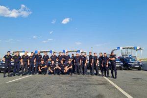 Sprijin operativ din partea Poliţiei de Frontieră Române, în gestionarea migraţiei de la graniţa croato-slovenă