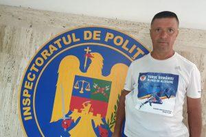Polițistul maratonist Dănuț Cernat face turul României în pași de alergare