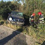 Impact între un TIR și un autoturism în care se aflau patru persoane la ieșire din orașul Deta