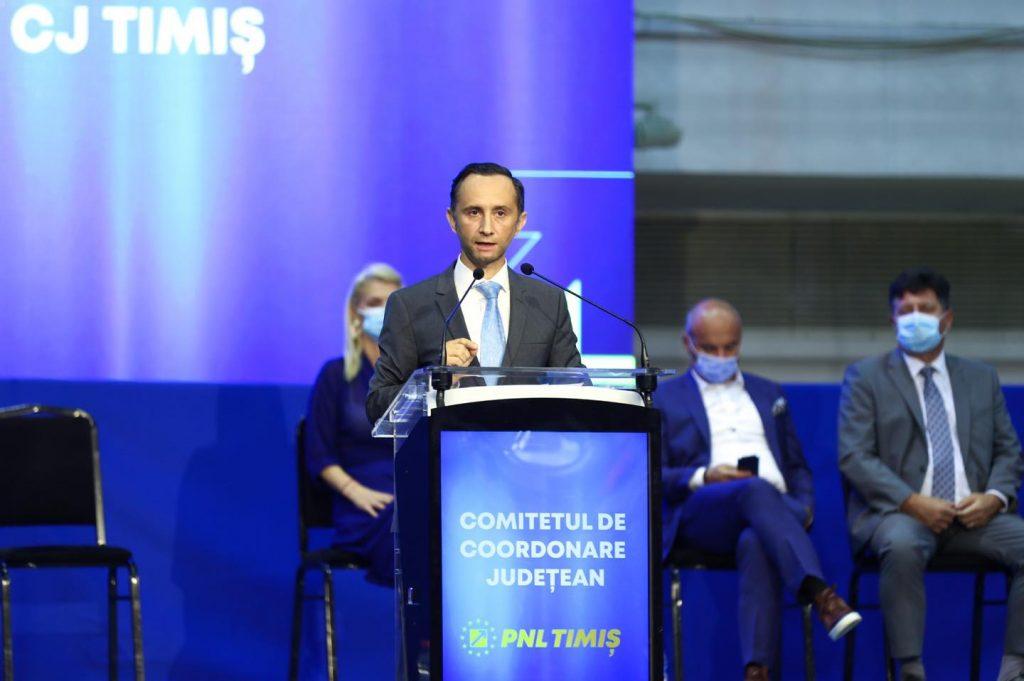 Alin Nica, ales președinte al PNL Timiș