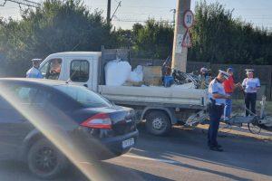 Trei permise suspendate și zece amenzi după o razie de două ore a Poliției Rutiere