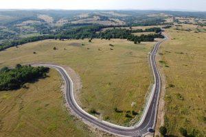 Lucrarea de asfaltare a drumului Crivobara – Vizma urmează să fie recepționată
