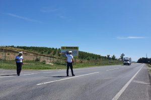 542 de amenzi date sâmbătă de polițiștii de la Rutieră