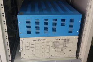 Verificări la Stația de măsurare a calității aerului de lângă Liceul pedagogic