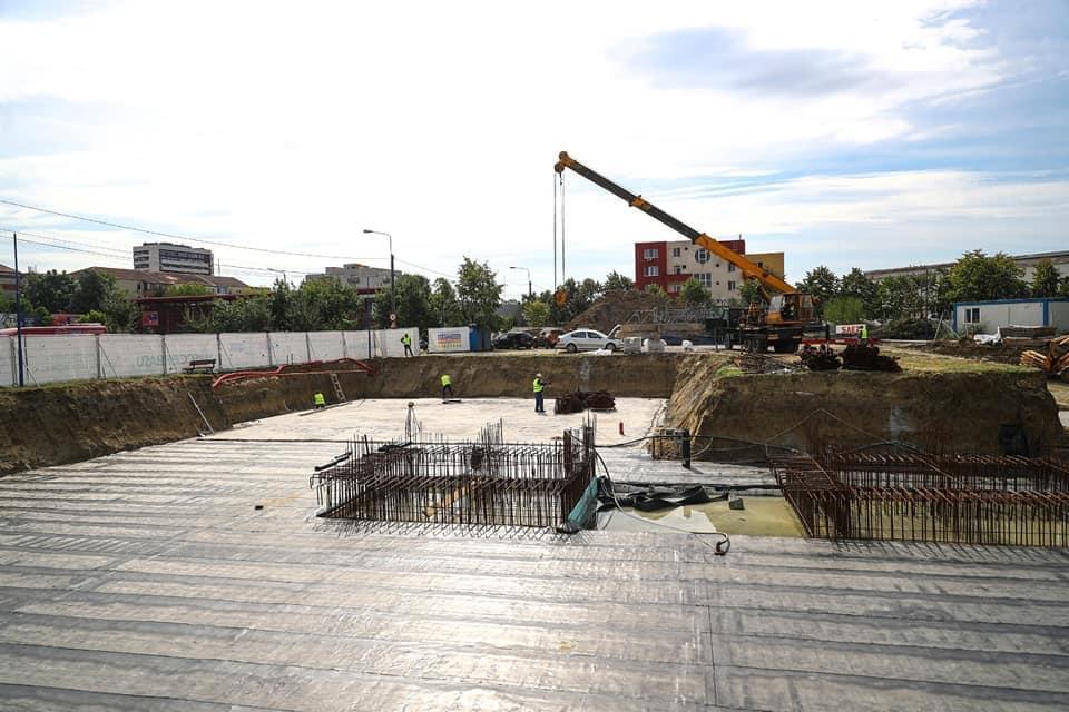 Lucrările la noua maternitate și la extinderea UPU a Spitalului Județean Timișoara avansează