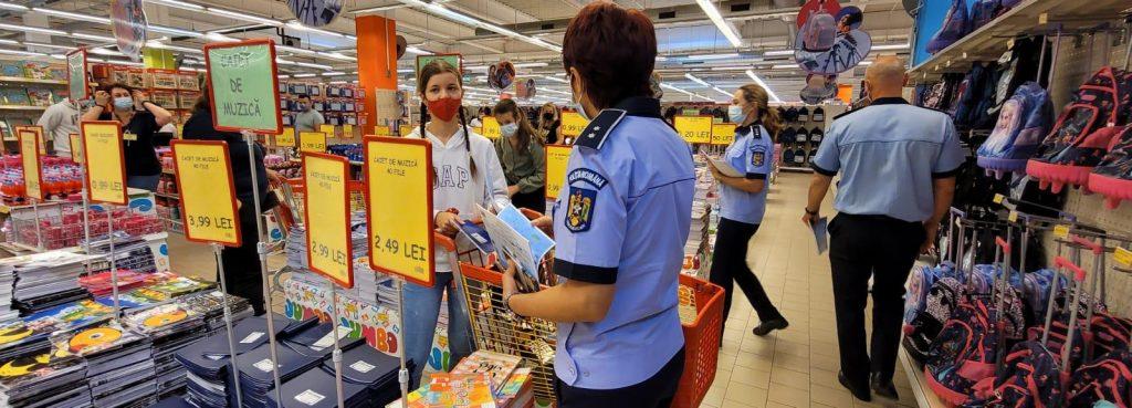 Polițiștii au verificat societățile comerciale și controlat autoturismele