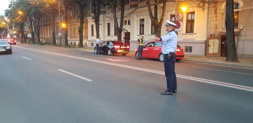 Razie a polițiștilor pe drumurile din Timiș