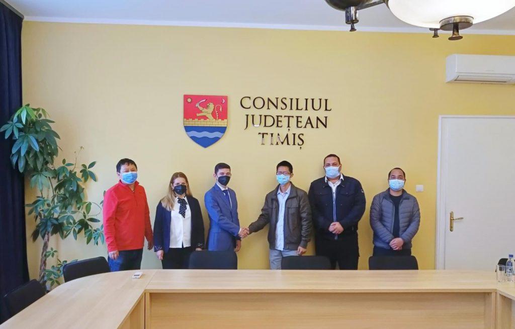 Investiție de 30 de milioane de dolari, în Timiș, anunțată de o companie chineză