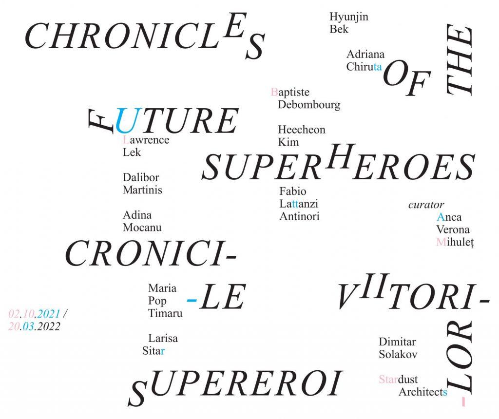 Kunsthalle Bega prezintă Cronicile viitorilor supereroi. Viitor, utopie și supra-inteligență într-o expoziție internațională de grup