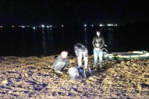 Zece persoane au încercat să treacă ilegal fluviul Dunărea