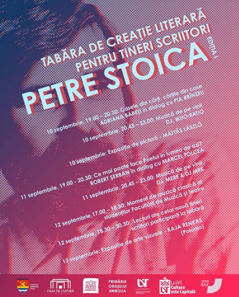 """UVT în comunitate: Prima ediție a Taberei de Creație Literară pentru Tineri Scriitori """"Petre Stoica"""" va avea loc în acest weekend în Jimbolia"""