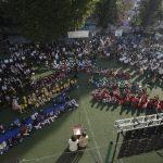 Primarul Fritz prezintă lista cu lucrările din școlile și grădinițele Timișoarei