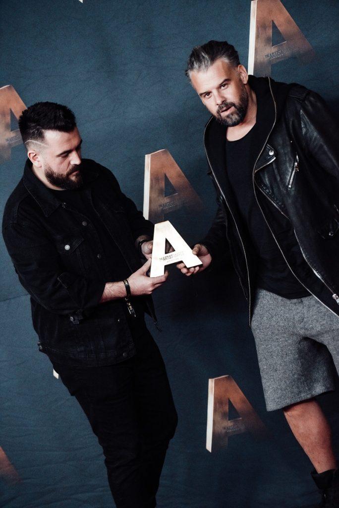 """Tinu Vidaicu și George Hora au câștigat titlul """"Best Remixer"""" la The Artist Awards 2021"""