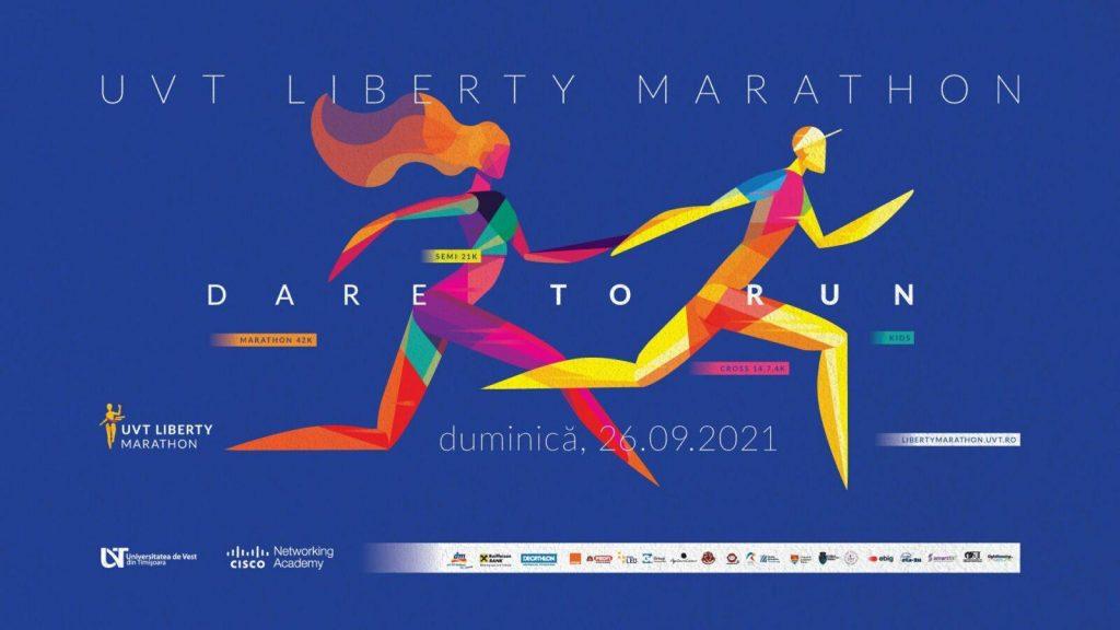Ultima zi a înscrierilor la a patra ediție UVT Liberty Marathon