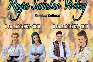 Două zile cu muzică aleasă la Rugă la Voiteg, de Sfânta Maria Mică