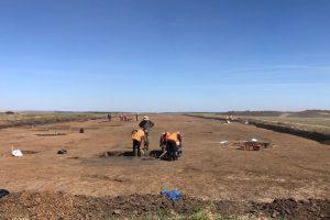 A fost închis un sit arheologic pe traseul viitorului drum de legătură dintre A1 și DN 69