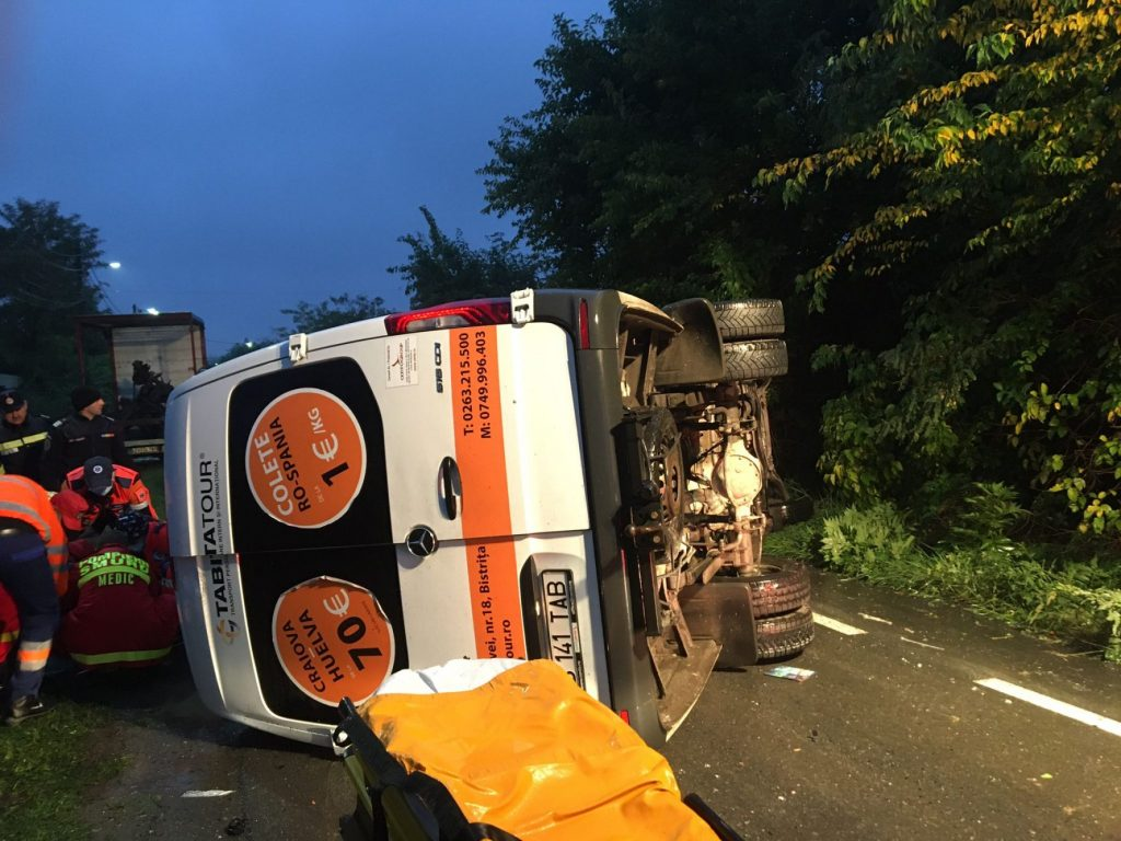 Accident rutier în județul Arad! A fost activat Planul Roșu