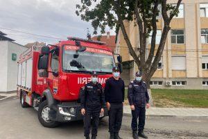 O autospecială ISU va asigura intervențiile din curtea spitalului Victor Babeș Timișoara