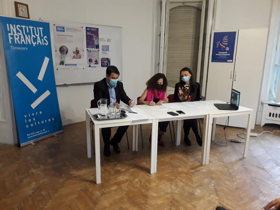 Colaborare între ISJ Timiș și Institutul Francez din Timișoara