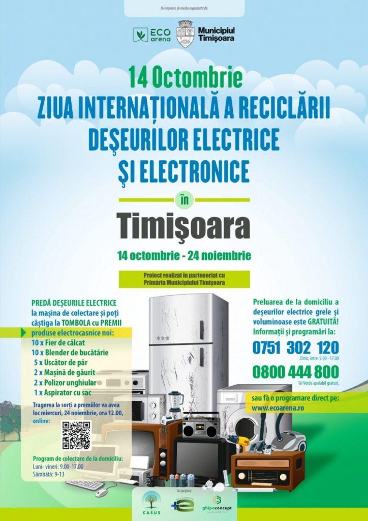 Se dă startul campaniei pentru colectarea deșeurilor electrice și eletrocasnice