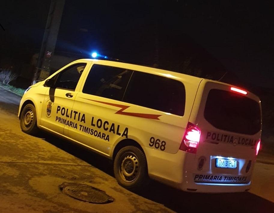 Au fost înregistrate la Poliția Locală Timișoara peste 150 de sesizări cu privire la tulburarea liniștii publice în zone de locuințe