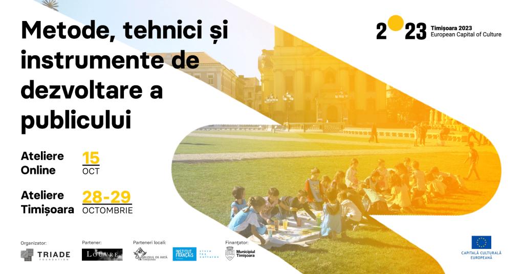 Sesiuni de formare pentru mediatori culturali în colaborare cu Muzeul Luvru