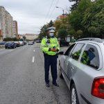 Șoferii, trași pe dreapta de polițiști. S-a lăsat cu amenzi și dosare penale