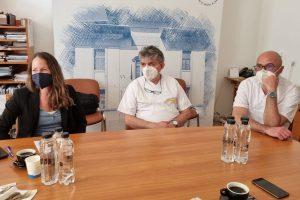 """Delegație OMS la Spitalul de Boli Infecțioase """"Dr. Victor Babeș"""" din Timișoara"""