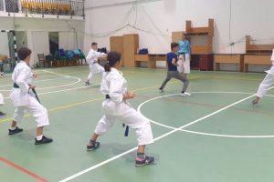Lotul de performanță de la CSC Ghiroda, antrenat de Ana Maria Bucșă, pregătiri pentru Campionatul European de karate