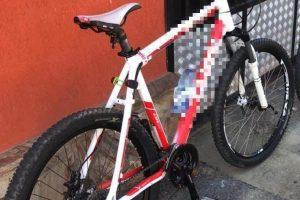 Tânăr reținut pentru furtul unei biciclete care costă 1.000 de euro