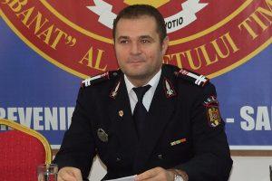 Șeful ISU Timiș, internat la Babeș cu o formă moderată de covid. Nu este vaccinat