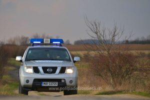 Cinci migranți, depistaţi într-un autoturism în zona de frontieră cu Serbia