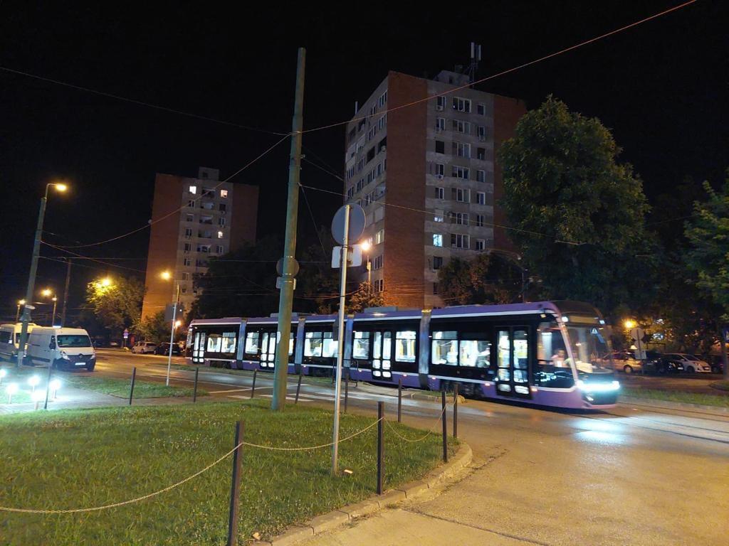 STPT continuă testele cu tramvaiul Bozankaya pe linia 9